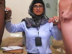 Arab twat is getting nailed hard