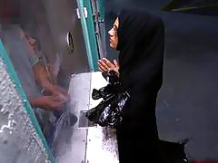 Desperate Arab woman takes cash from stranger in exchange for hard sex